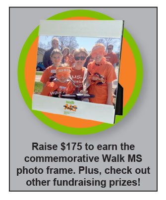 Walk MS Photo Frame