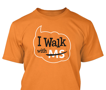 I Walk with MS Shirt