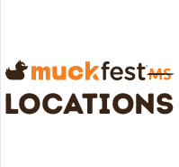 MuckFest MS City Locations